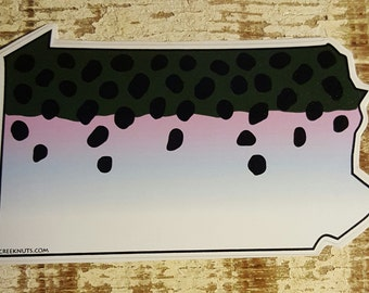 Pennsylvania Steelhead Sticker Decal