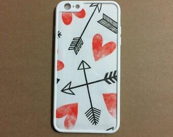 Hearts & Arrows iPhone case