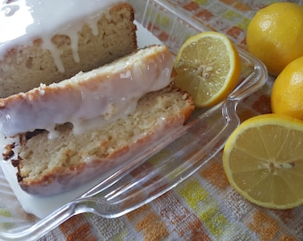 Lemon Zest Glazed Loaf Cake, Rich, Delicious, moist, Goumet