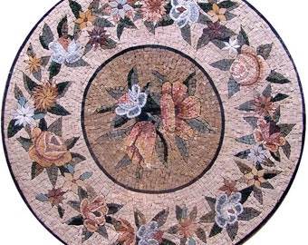 Floral Medallion Mosaic