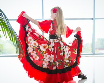 Gypsy dance costume 'Mirela'