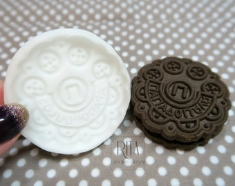 COOKIE PAPADOPOULO Flexible silicone mold (5cm.)