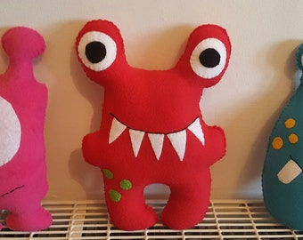 Fleece Monster Cushions