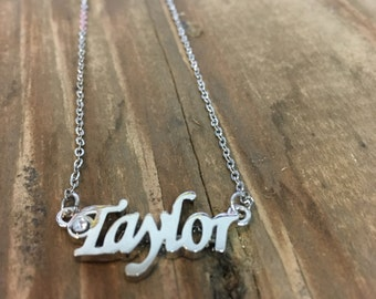 Taylor Necklace in Silver