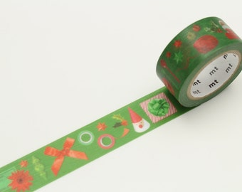 Red and Green Washi Tape | MT Christmas 2016 Collection Japanese Masking Tape (MTCMAS71)