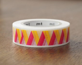 Rickrack Yellow washi tape | MT 2017 Spring & Summer Collection MT Deco Tapes (MT01D351)