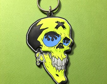 X Head • PVC Keychain