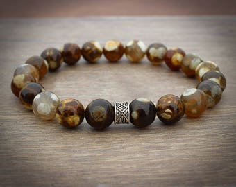 Beaded Bracelet for Him