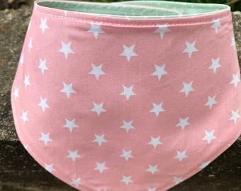 Lap dog reversible bandana star points