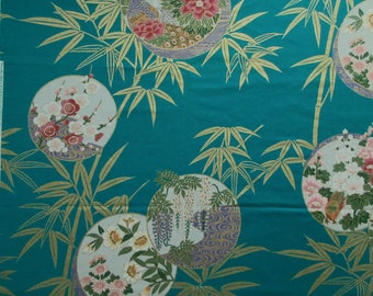 """Asian Fabric - Kyokai Collection by Priscilla Miller 1994 - 28"""" x 42"""" only"""
