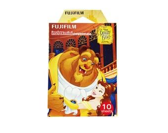 Disney Beauty and the Beast Fujifilm Instax Mini Film Instant Photos