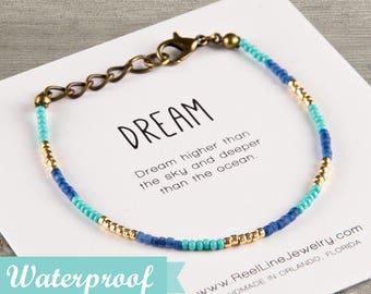 Waterproof Friendship Bracelet, MERMAID WEAR, Adjustable Friendship Bracelet, Best Friend Gift, Best Friends, Friends Gift, Beach Jewelry