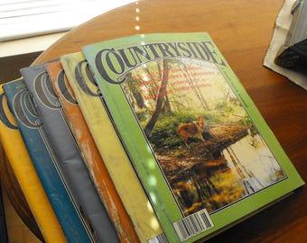 Countryside Magazine Lot of Six, 1990s Homesteading