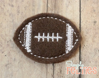 Football Felties--Set of 4