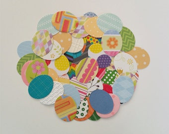 Easter Egg Die Cuts-In Card Stock, Glitter, and Now in Designer Series Paper