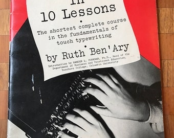 1946 Touch Typing in 10 Lessons
