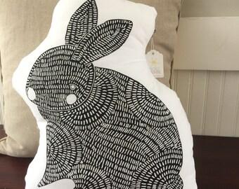 SALE Rabbit Pillow