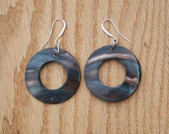 Shell Earrings- Sterling silver