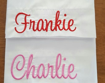 Toddler Size Personalized Pillowcase