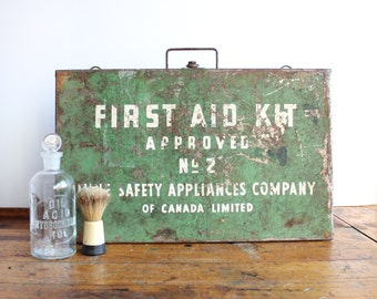 Army Green First Aid Kit