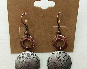 Handcrafted Metal Earrings