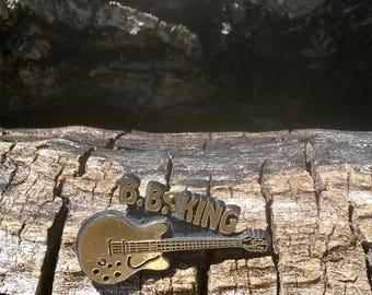 Vintage BB King Guitar Tac Pin