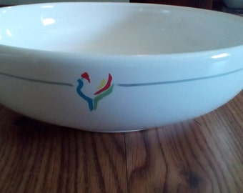 COUNRTY KITCHEN Sale...Big Bowl... Rooster Logo...GAllO DESIGN