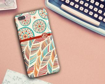 Boho Chic, Bohemian Phone Case, Colourful  8/8p/X/6/6s/6 Plus/6s Plus/5s, LG Phone, Phone case, monogrammed phone case