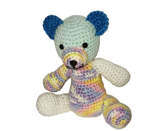 Pastel Amigurumi Stuffed Teddy Bear