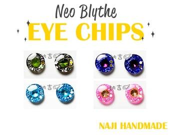 Blythe eye chips JEWEL pupil shinning brilliant - [NAJI810 HANDMADE]