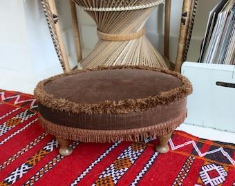"""Vintage """"Sherbourne"""" footstool"""