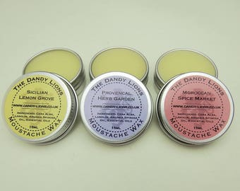 The Popular Moustache Wax Collection