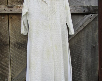 CLEARANCE Indian style beaded tunic with issues