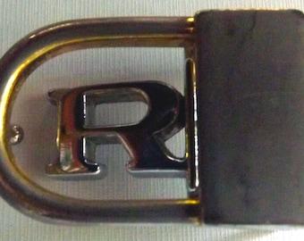 """1960s """"R"""" Belt Buckle"""
