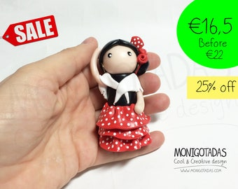 Figurines Folklore collection / Flamenca 25%off