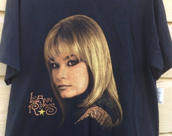 1998 LeAnn Rimes Concert Shirt- Something to talk about tour Size Large