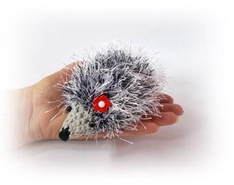 Wholesale Crochet hedgehog Crochet toys hedgehog Plush set of 10