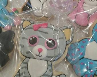 Beanie boo cookies (12 cookies)