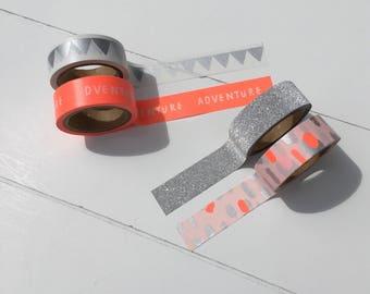 Washi tape set of 4 washi tapes (W06)