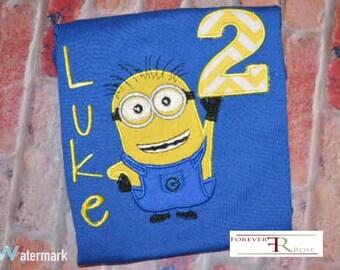 Sale Sale!!Pick me Minions Birthday Shirt