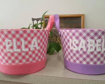 Customized Easter basket