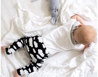 Black Cloud Child & Baby leggings