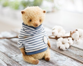 Artists Mohair Teddy Bear , teddy bear , soft toy bear, 9 inches