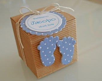 Baptism Favor Box Kit studs