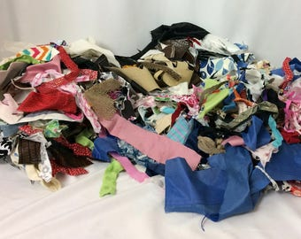 Bundle of Fabric Scraps
