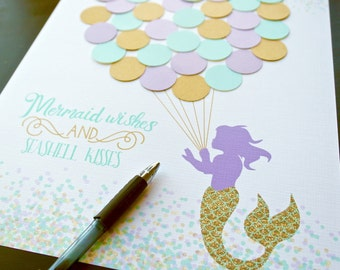 Mermaid Baby Shower | Etsy