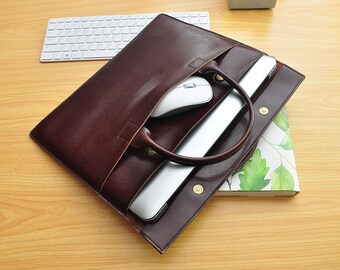 Macbook 11inch Leather Bag for 11.6 Macbook Sleeve 11inch Laptop Cover 11.6 Macbook Air Sleeve Leather 11inch Macbook Air Case 11.6-038