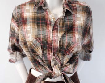 Vintage flannel made in U.S.A