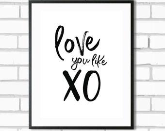 XO - Digital Print