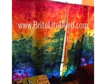 Tie Dye Home Decor-Tie Dye Curtains-Tiedye Curtains-Tiedye Decor-Tyedye  Decor-Home Decor-Home Curtains-Window Curtains-Tie Dye-Tye Dye
